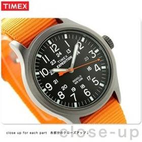 タイメックス エクスペディション スカウト メンズ 腕時計 TW4B04600 TIMEX ブラック×オレンジ 時計