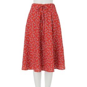 【ムルーア/MURUA】 little flowerフレアスカート