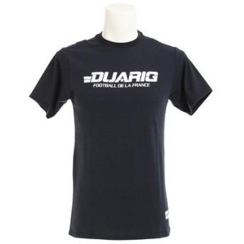 デュアリグ(DUARIG) 【多少の汚れ等訳あり大奉仕】ロゴ Tシャツ 863D7HD4801 NVY (Men's)