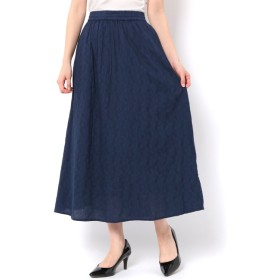 【テチチ/Te chichi】 ジャガード柄スカート