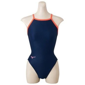 MIZUNO SHOP [ミズノ公式オンラインショップ] 競泳練習用ミディアムカット[レディース] 14 ネイビー N2MA8271