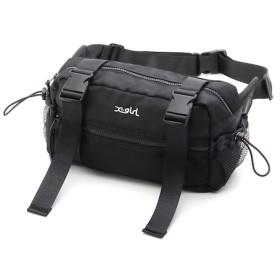 【エックスガール/X-girl】 BOX SHAPE HIP BAG