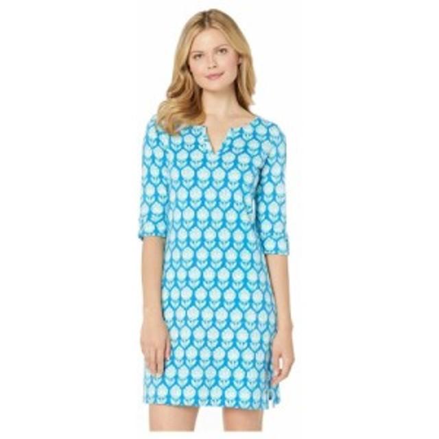 ハットレイ Hatley レディース ワンピース ワンピース・ドレス Lucy Dress Shadow Flowers Blue
