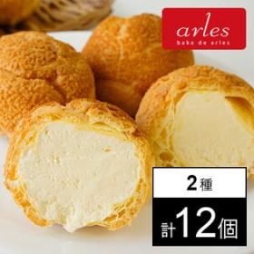 【北海道】アルルの贅沢ギフト クッキーシュー詰合せ 2種計12個