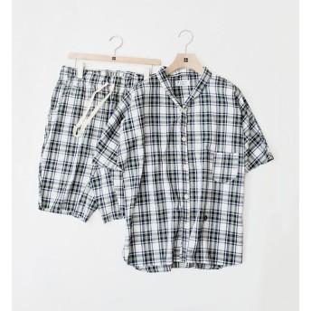 【シップス/SHIPS】 Villon'd:チェックサマーパジャマ