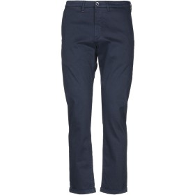 《期間限定セール開催中!》RE-HASH メンズ パンツ ブルー 34 コットン 97% / ポリウレタン 3%