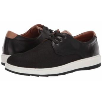 ジョンストン&マーフィー Johnston & Murphy メンズ スニーカー シューズ・靴 Elliston Plain Toe Black Full Grain/Ballistic Nylon