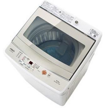 【設置無料 Aエリア】アクア 5.0kg 全自動洗濯機 ホワイト AQUA AQW-GS50G-W 【返品種別A】