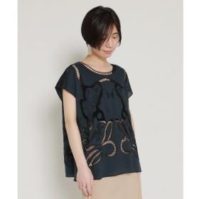 【ミューカ/MJUKA.】 カットワーク刺繍ブラウス