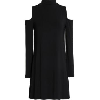 《セール開催中》TART COLLECTIONS レディース ミニワンピース&ドレス ブラック M レーヨン 95% / ポリウレタン 5%