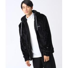 ティーケー タケオキクチ Champion for tk. TAKEO KIKUCHI フリースパーカー メンズ ブラック(019) 01(S) 【tk. TAKEO KIKUCHI】