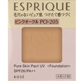 エスプリーク ピュアスキン パクト UV PO-205 ピンクオークル (9.3g)