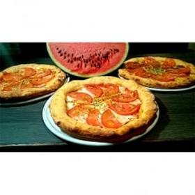 八色スイカのピザ3枚セット