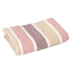 昭和西川 【2枚組】 洗える 麻混敷きパッド 日本製 シングル シーツ 麻 綿 速乾 ピンク 20700048 02