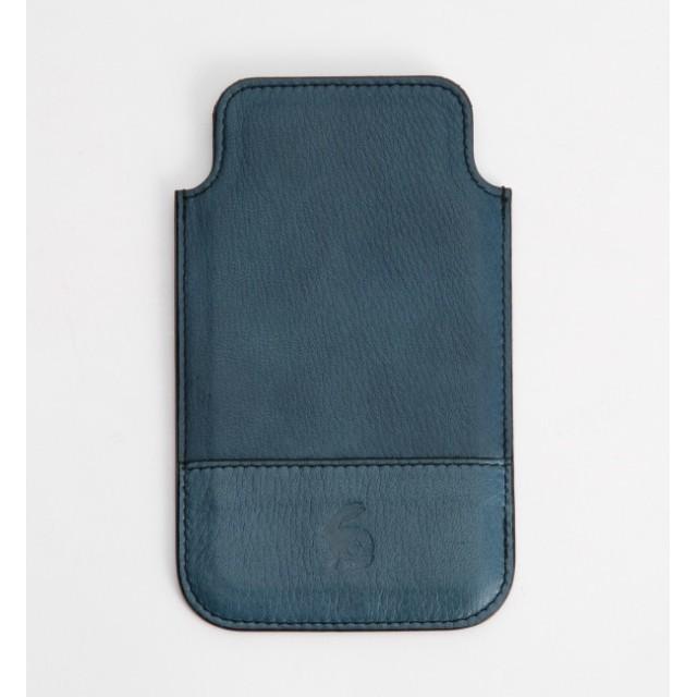 【キヌヤ/絹や】 【手染め】阿波藍 iPhoneケース