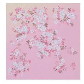 宮井 ふろしき 宇野千代 ポリエステル70cm幅 花咲ざくら 12-7541-15