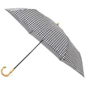 【シップス/SHIPS】 ギンガムチェック晴雨折りたたみ傘