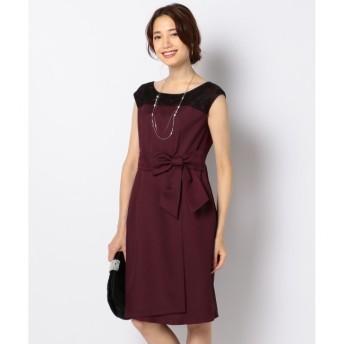 【エニィスィス/any SiS】 レースコンビ ドレス