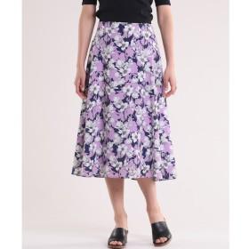 【スーペリアクローゼット/SUPERIOR CLOSET】 フラワーラップスカート