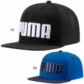 プーマ スポーツ 帽子 キャップ ハット  ジュニア ジュニア フラットブリム キャップ JR  PUMA 021683