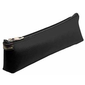 スピーチバルーン ペンケース ステッチペン スリム 合皮[P-305-88](ブラック)