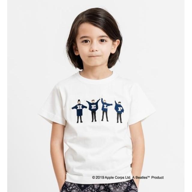 【シップス/SHIPS】 SHIPS KIDS:<パパとおそろい>【THE BEATLES(ザ・ビートルズ)】TEE(100~130cm)