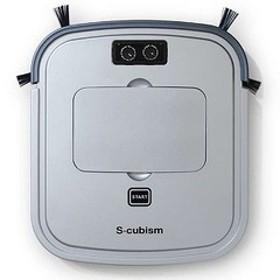 エスキュービズム 超薄型床用ロボット掃除機 SCC-R05SM