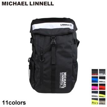 マイケルリンネル MICHAEL LINNELL リュック バッグ 30L メンズ レディース バックパック BIG BACKPACK ブラック ネイビー 黒 ML-008
