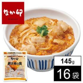 <なか卯>親子丼の具 145g×16袋