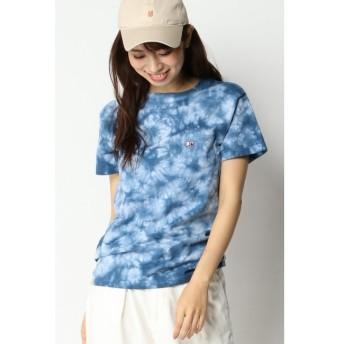 【イッカ/ikka】 URBAN ISLAND SOCIETY タイダイポケット付きTシャツ
