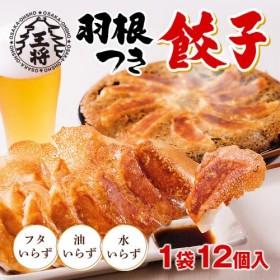 【大阪王将】≪豚肉タイプ≫羽根つき餃子