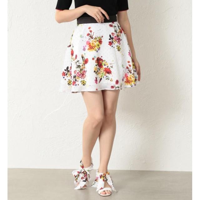 【ラブレス/LOVELESS】 【LOVELESS】WOMEN nowarttモノグラムフレアスカート