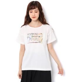 【サマンサモスモス/Samansa Mos2】 ジャム転写プリントTシャツ