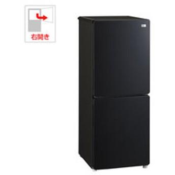 【設置無料 Aエリア】ハイアール 148L 2ドア冷蔵庫(ブラック)【右開き】 Haier JR-NF148B-K 【返品種別A】