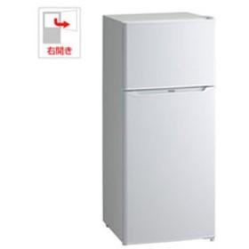 【設置無料 Aエリア】ハイアール 130L 2ドア冷蔵庫(直冷式)ホワイト【右開き】 Haier JR-N130A-W 【返品種別A】