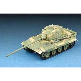トランペッター 1/72 ドイツ軍 E-75重戦車【07125】 プラモデル TP 07125 ドイツ E-75 ジュウセンシャ 【返品種別B】