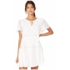 ミス ミー Miss Me レディース ワンピース ワンピース・ドレス Mini Dress with Tie Neck Off-White