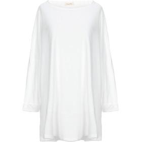 《期間限定セール開催中!》AMERICAN VINTAGE レディース T シャツ ホワイト XS/S コットン 100%