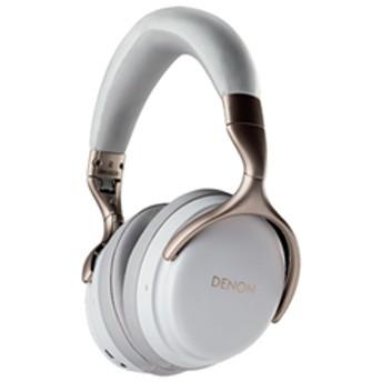 デノン Bluetooth対応 ダイナミック型ヘッドホン(ホワイト) DENON AH-GC30WTEM 【返品種別A】