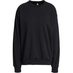 《期間限定セール開催中!》OAK レディース スウェットシャツ ブラック S コットン 100%