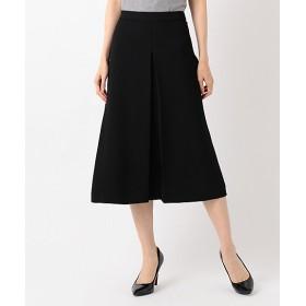 <自由区> ELEGANCE TWILL Aラインスカート(SKWMKA0224) クロ 【三越・伊勢丹/公式】