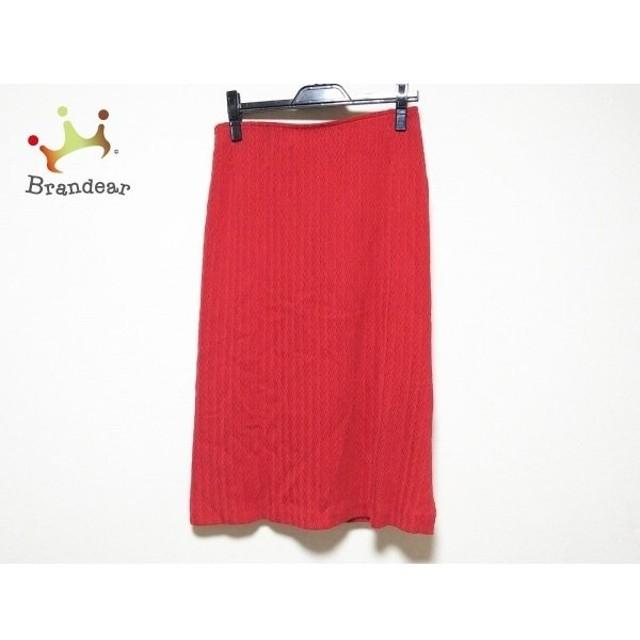 ミッソーニ MISSONI スカート サイズ46 L レディース 美品 レッド 新着 20190724