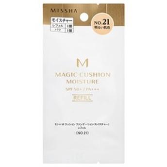 dポイントが貯まる・使える通販| ミシャ M クッションファンデーション モイスチャー レフィル NO.21 (15g) 【dショッピング】 化粧下地 おすすめ価格