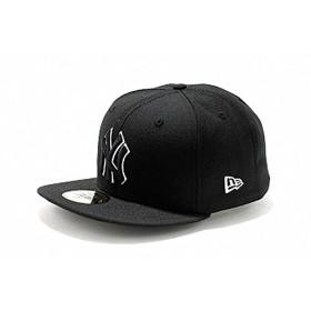 ニューエラ 59FIFTY カスタム ニューヨーク・ヤンキース 11308576 ブラック/ブラック ホワイトアウトライン Custom New York Yankees black/black white outline 7-5/8(60.6cm)