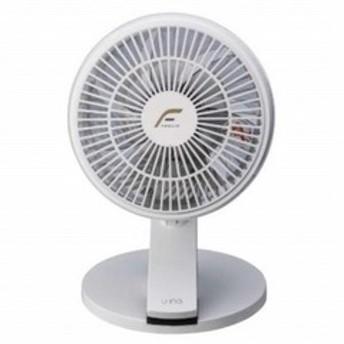 ユーイング クリップ式対応・卓上型扇風機 UF-CD18M-W ホワイト [7枚羽根] UF-CD18M ホワイト
