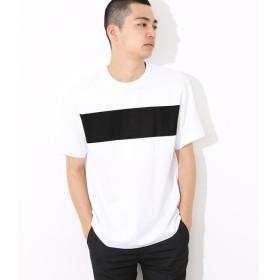【アダム エ ロペ/ADAM ET ROPE'】 ポンチラインプリントTシャツ