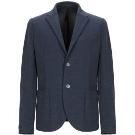《セール開催中》HARRIS WHARF LONDON メンズ テーラードジャケット ブルー 50 コットン 68% / ポリエステル 15% / ナイロン 14% / ポリウレタン 3%