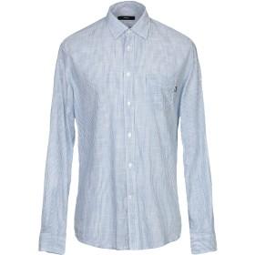《期間限定セール開催中!》DIESEL メンズ シャツ ブルー S コットン 100%