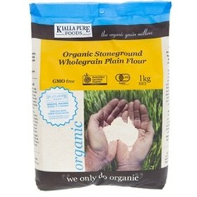 キアラピュアフーズ 有機全粒強力小麦粉 (1kg)