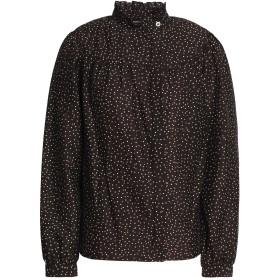 《期間限定 セール開催中》VANESSA SEWARD レディース シャツ ブラック 36 コットン 56% / シルク 44%